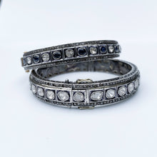 Load image into Gallery viewer, Rose Cut Diamond Bangle