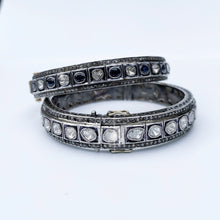 Load image into Gallery viewer, Sapphire and Diamond Wedding Bracelet