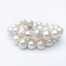 Load image into Gallery viewer, White Potato Pearl Bracelets
