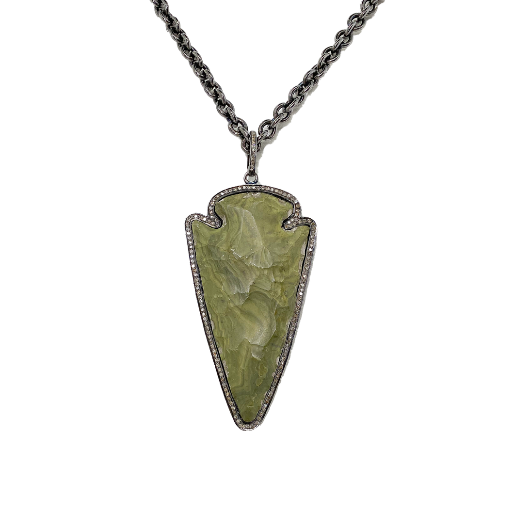 Stone and Diamond Arrow - Medium