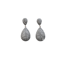 Load image into Gallery viewer, Double Drop Diamond Earrings