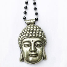 Load image into Gallery viewer, Brass Buddha Necklace