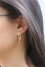 Load image into Gallery viewer, 14kg Link Earrings