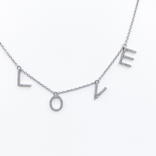 Load image into Gallery viewer, Dangling LOVE Necklace