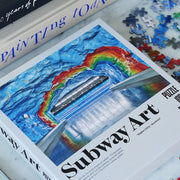 SUBWAY ART RAINBOW PUZZLE