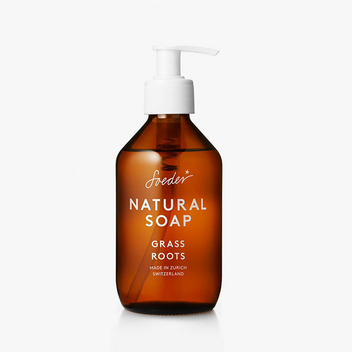 Soeder - Natural Soap - Grass Roots 250ml