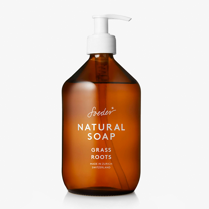 Soeder - Natural Soap - Grass Roots 500ml