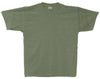 military green heather t