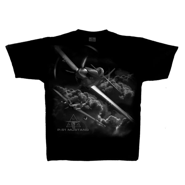 P-51 Mustang Special Edition Adult T-shirt (clearance)