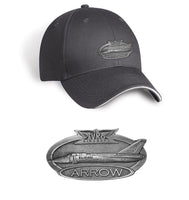 Avro Arrow Pewter Cap