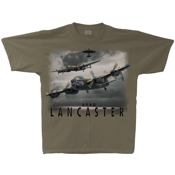 Avro Lancaster Flight Adult T-shirt