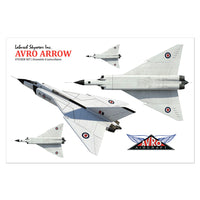 Avro Arrow Sticker Sheet