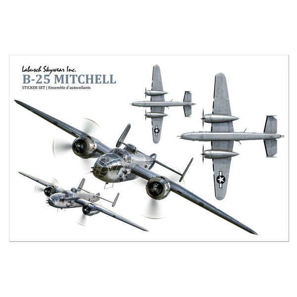 B-25 Mitchell Sticker Sheet