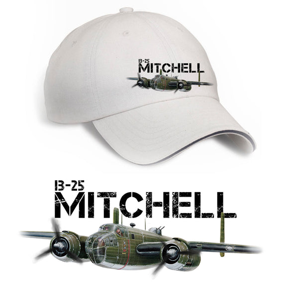 B-25 Mitchell Printed Hat