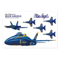 Blue Angels Sticker Sheet