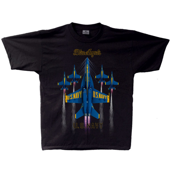 Blue Angels 2021 Pure Vertical Youth T-shirt