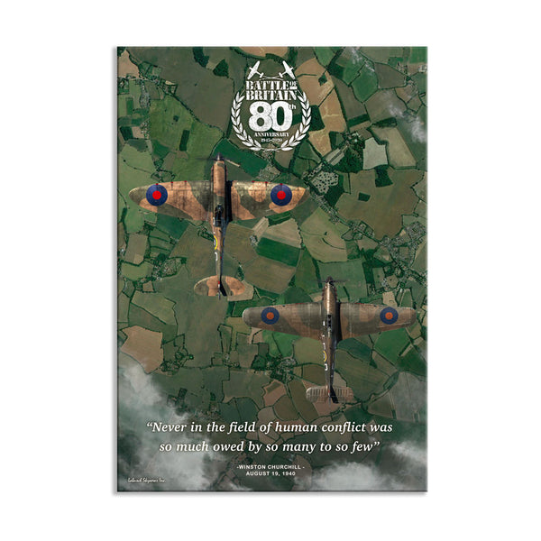 Battle of Britain 80th Anniversary The Few Canvas Print