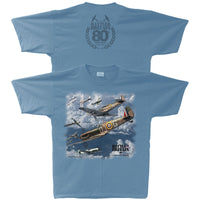 Battle of Britain 80th Anniversary Spitfire Adult T-shirt