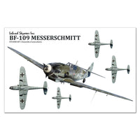 Bf-109 Messerschmitt Sticker Sheet