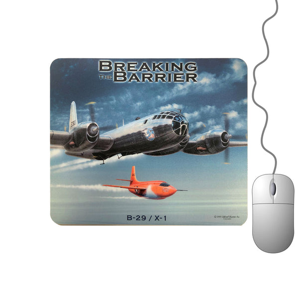 Breaking The Barrier Mouse Pad (clearance)