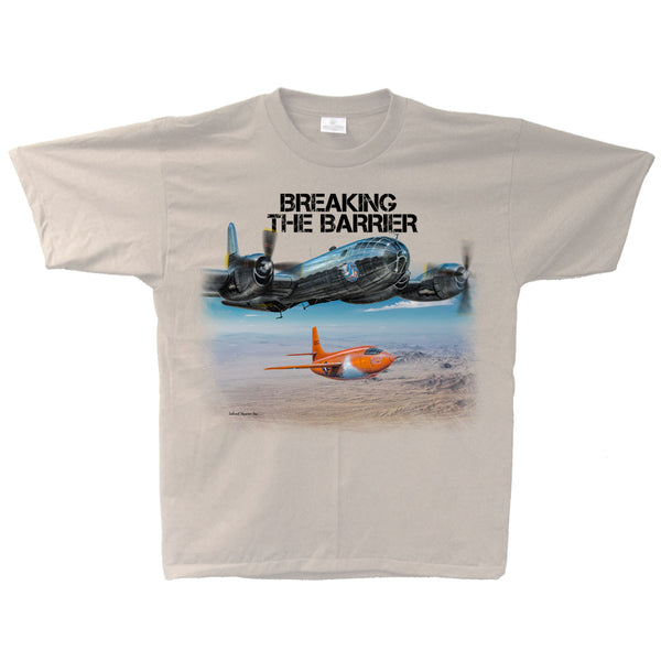Breaking The Barrier Adult T-shirt