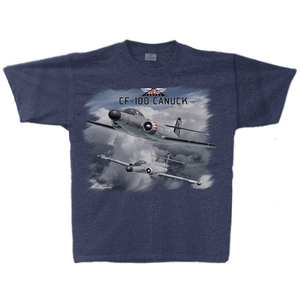 CF-100 Canuck Adult T-shirt