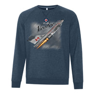 CF-101 Voodoo Adult Crew Neck Sweatshirt