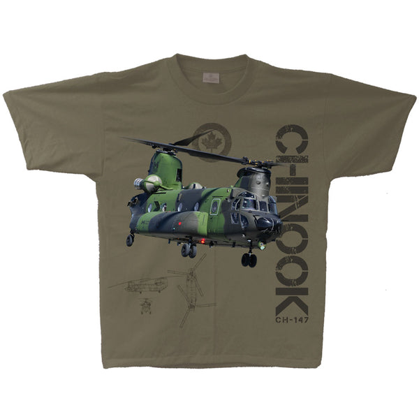 CH-147 Chinook Vintage Adult T-shirt