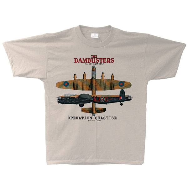 Dambusters Operation Chastise Adult T-shirt