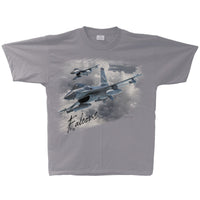 F-16 Falcon Flight Adult T-shirt