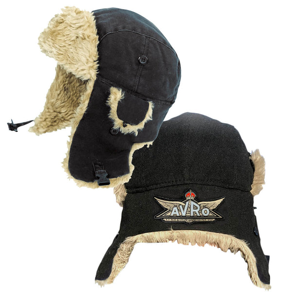 Avro Aircraft Faux Fur Aviator Cap