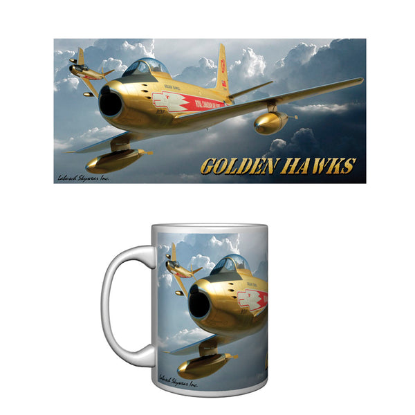 Golden Hawks Ceramic Mug