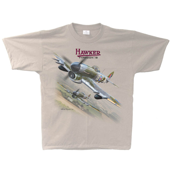 Hawker Typhoon Vintage Adult T-shirt