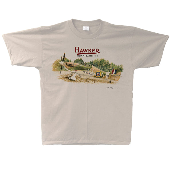 Hawker Hurricane Vintage Adult T-shirt