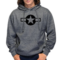 USAF Marled Fleece Hooded Sweatshirt