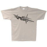 Mosquito Sketch Adult T-shirt