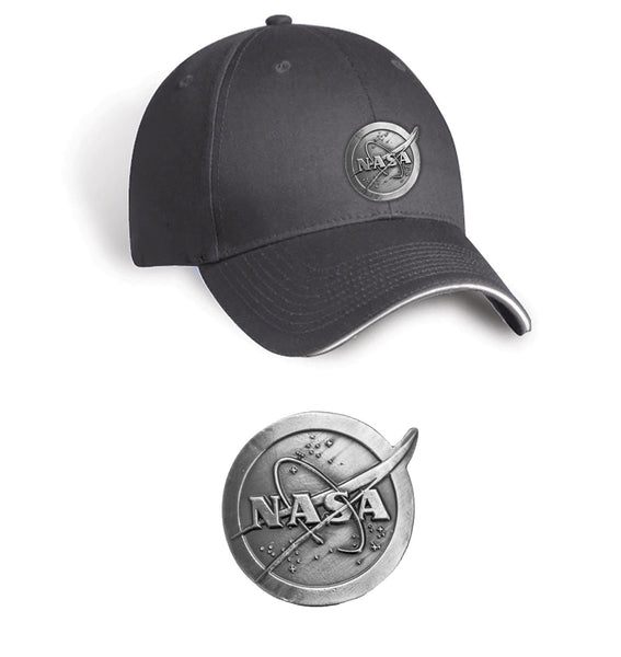 NASA Space Pewter Cap