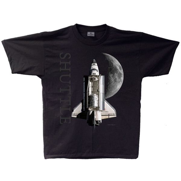 Shuttle Moon Space Adult T-shirt