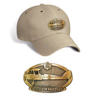 Tiger Moth Brass Cap