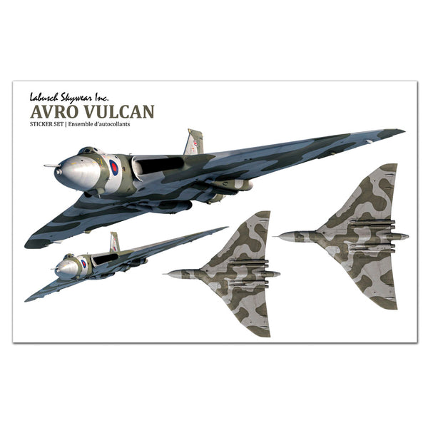 Avro Vulcan Sticker Sheet