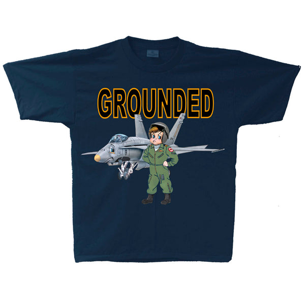 F-18 Grounded Youth T-shirt