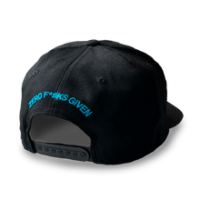 Load image into Gallery viewer, Black Snapback