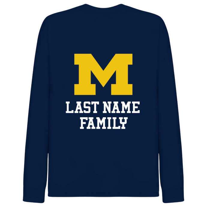 Michigan Family Long Sleeve