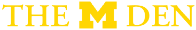 The M Den logo