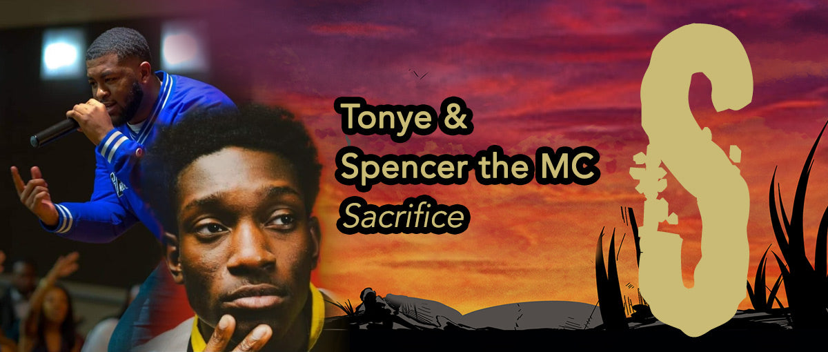 Tonye and Spencer performs on the Lesson Sacrifice on the C.L.O.U.D.D.S. 7 Music Ep by Omniv8rse Entertainment