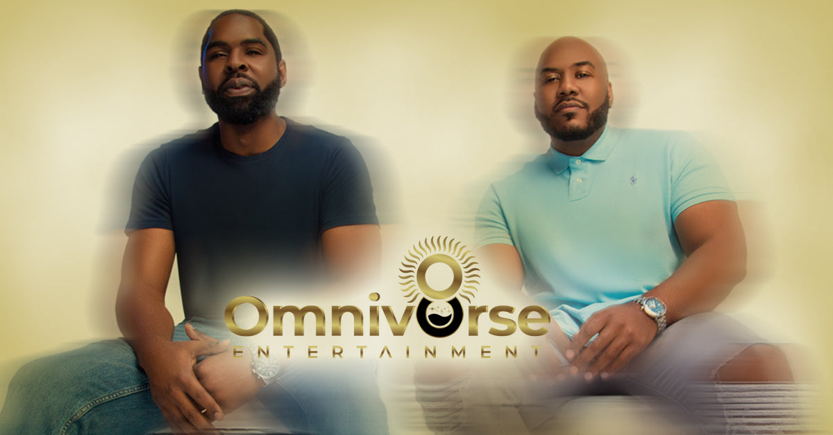 Lonnie Jackson and Deshawn Marks founders of Omniv8rse Entertainment