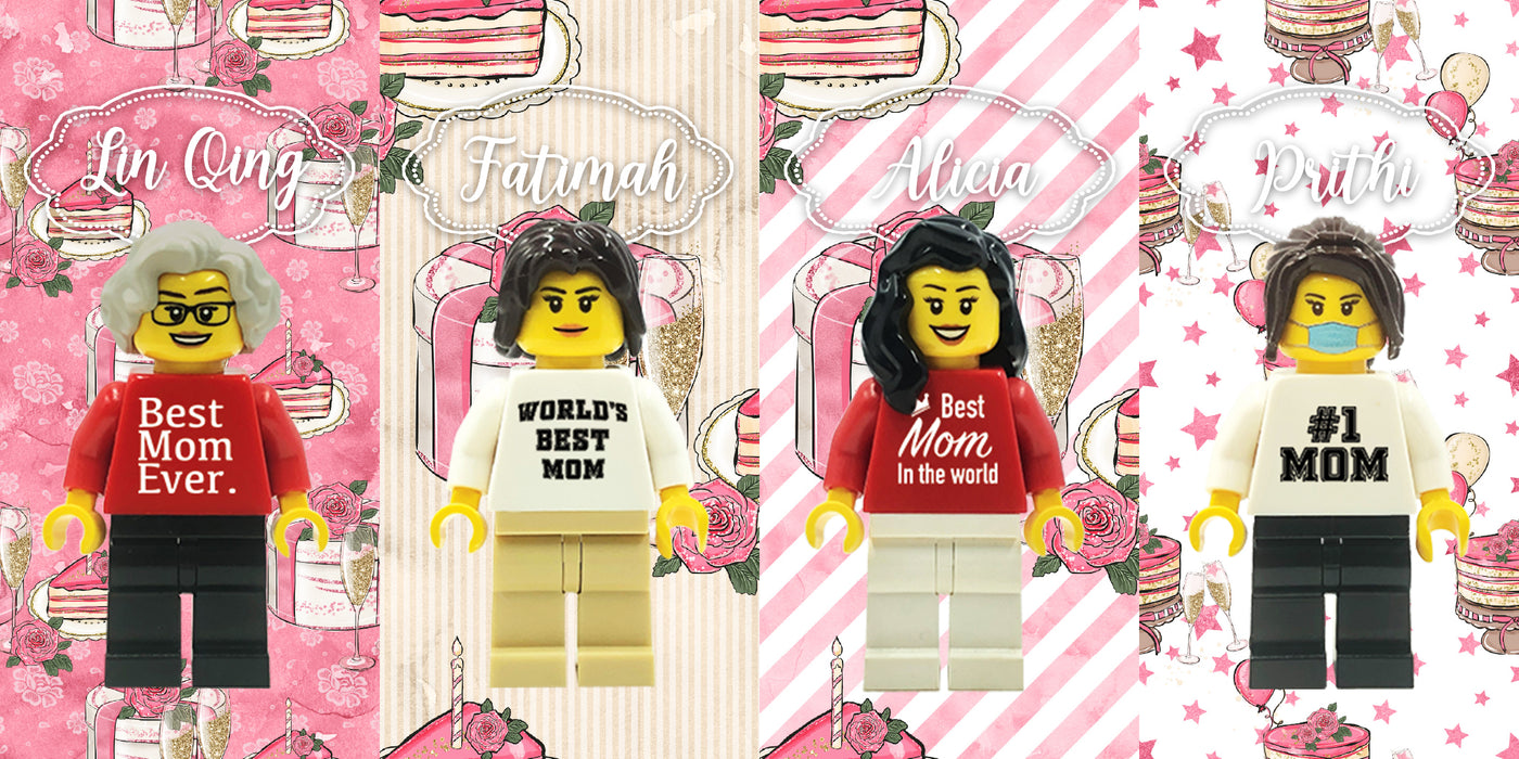 BEST MOM MINIFIGS