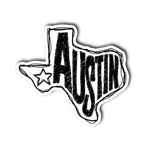 Austin, Texas Sticker