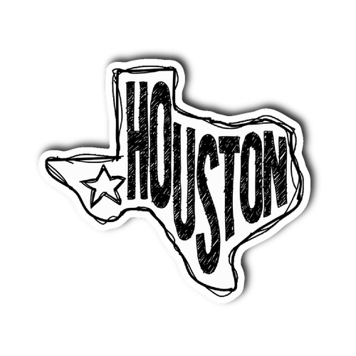 Houston, Texas Sticker