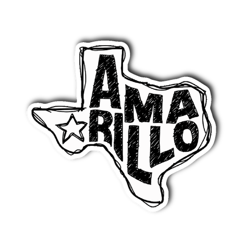 Amarillo, Texas Sticker